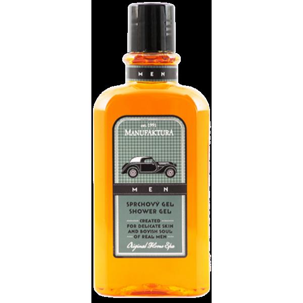 MANUFAKTURA MEN. Освежающий мужской гель для душа с уникальным комплексом трав, экстрактом оливок и пшеницы