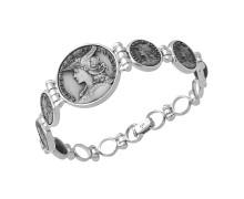 Браслет Style Avenue. Серебро 925, бижутерный сплав (монета), родирование