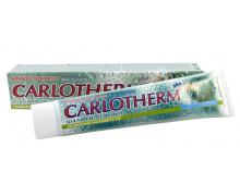 Зубная паста CARLOTHERM Анти,  без пены с солью карловарских термальных  источников. Вес100g