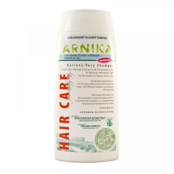 ARNIKA, шампунь для волос  с экстрактами трав, пантенолом и солью горячих источников. Объем 250ml