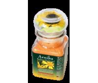 ARNIKA, соль для ванны, подарочная стеклянная упаковка. Вес 200g