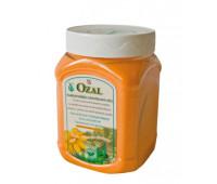 OZAL, цветная соль для ванн, ПЭТ-контейнер, оранжевый.. Вес 1000g