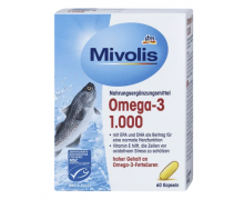 Mivolis. Омега-3 капсулы 1000 мг, 60 шт.