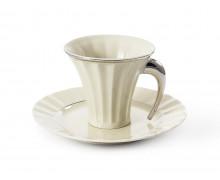 Чашка с блюдцем 0,20 л. ЕГИПЕТ ПЛАТИНОВЫЙ