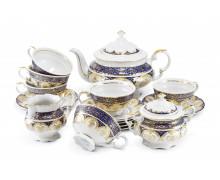 Чайный сервиз 15 предметов ДВОРЦОВАЯ СОНАТА- Синий