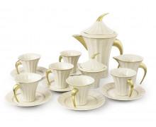 Чайный сервиз, 6 персон, 15 предметов ЕГИПЕТ ЗОЛОТОЙ