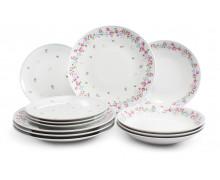Набор тарелок из 12 предметов ROSELINE
