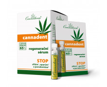 Cannaderm Cannadent. Востанавливающая сыворотка  для кожи губ и слизистой оболочки рта. 10x1,5 мл