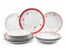 Набор тарелок из 12 предметов РОЖДЕСТВЕНСКИЕ МЕЧТЫ