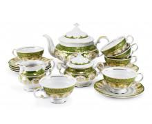 Чайный сервиз 15 предметов ДВОРЦОВАЯ СОНАТА- Светло-зеленый